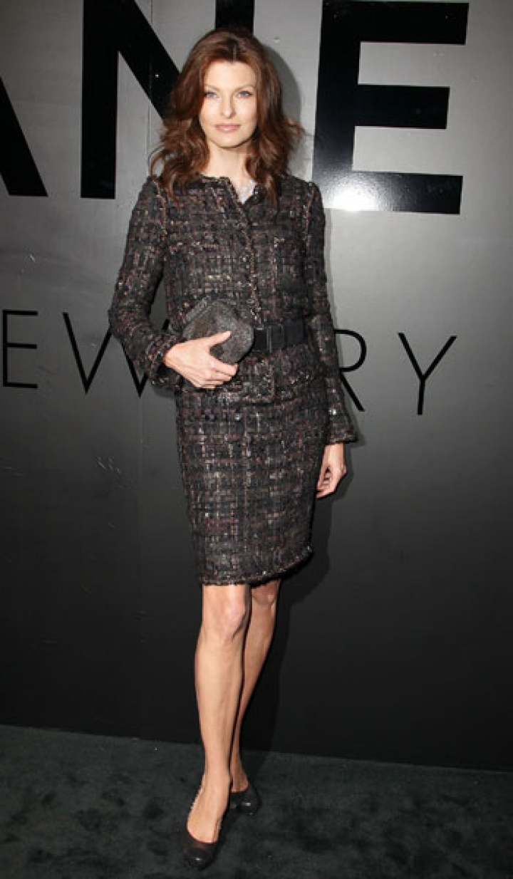 Linda at Chanel Anniversary in New York - October 9, 2012