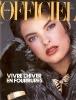 L'officiel de la couture et de la mode, France, November 1984 ph. Robert Diadul